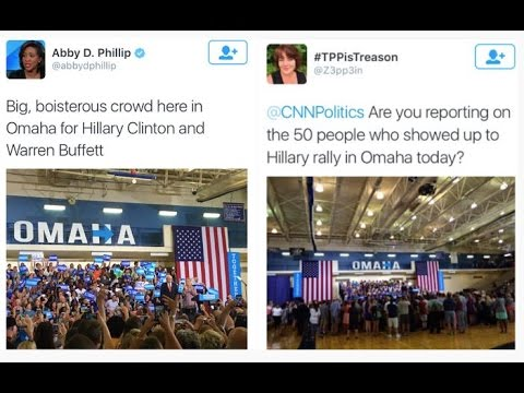 CNN's Abby Phillip caught misrepresenting Hillary's crowd sizes